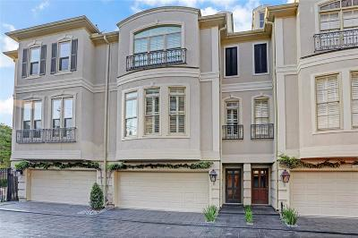 Houston TX Condo/Townhouse For Sale: $429,500