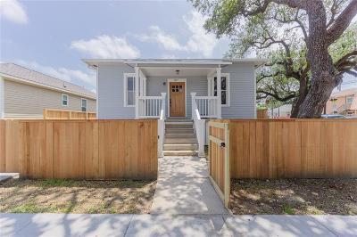 Galveston Single Family Home For Sale: 3427 Avenue M