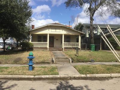 Houston Single Family Home For Sale: 1020 Peden Street