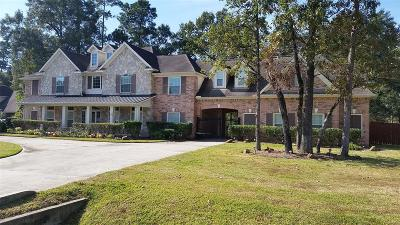 Spring Single Family Home For Sale: 30403 Aldine Westfield Road