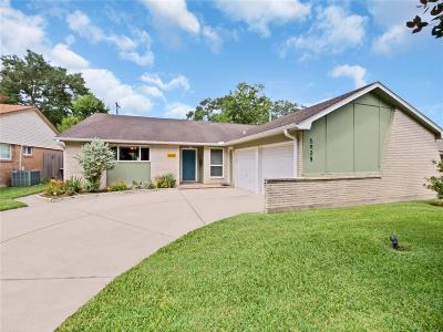 Houston Single Family Home For Sale: 5938 Vicki John Drive