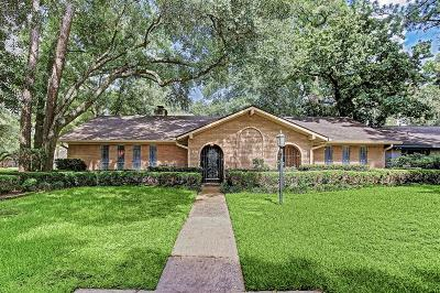 Houston Single Family Home For Sale: 4910 Clift Haven Drive