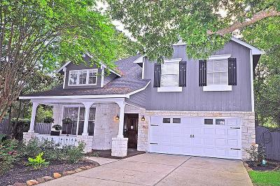 The Woodlands Single Family Home For Sale: 6 Gaslight