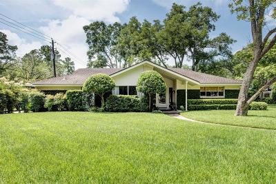 Piney Point Village Single Family Home For Sale: 1 S Cheska Lane