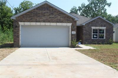 Houston Single Family Home For Sale: 4214 Knoxville Street