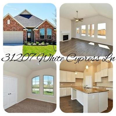 Hockley Single Family Home For Sale: 31207 White Cypress Lane