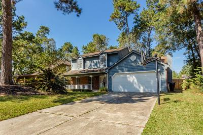 Kingwood Single Family Home For Sale: 3219 Golden Willow Drive