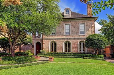 River Oaks Single Family Home For Sale: 2505 Del Monte Drive