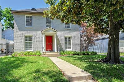 Houston Single Family Home For Sale: 3028 Wroxton Road