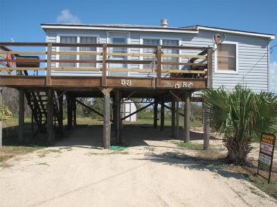 Matagorda Single Family Home For Sale: 333 Beachfront Drive Drive