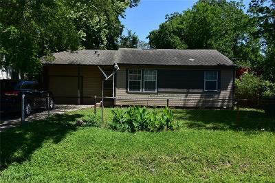 Houston Single Family Home For Sale: 7205 Howton Street