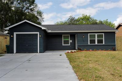 Pasadena Single Family Home For Sale: 3305 Suiter Way