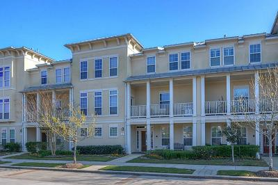 The Woodlands Condo/Townhouse For Sale: 91 Low Country Lane