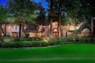 The Woodlands TX Single Family Home For Sale: $2,695,000