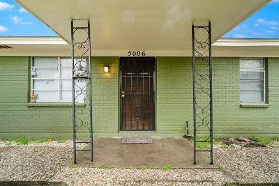 Single Family Home For Sale: 5006 & 1413 Chapman Street