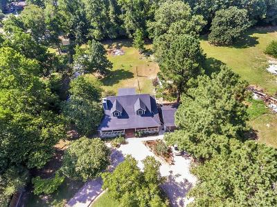 Willis Single Family Home For Sale: 7255 County Line Road