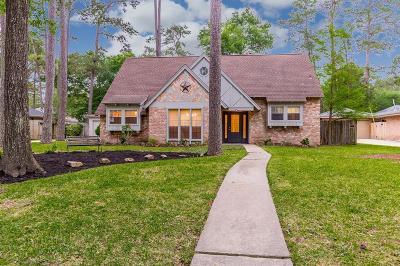 Kingwood Single Family Home For Sale: 2019 Pine River Drive