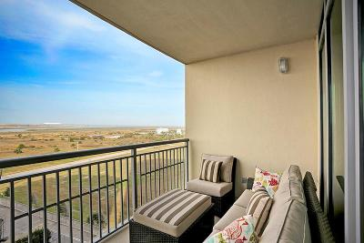 Galveston TX Mid/High-Rise For Sale: $383,000