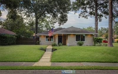 Houston Single Family Home For Sale: 5102 Lido Lane