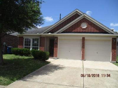 Manvel Single Family Home For Sale: 13 Garden Grove Drive