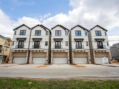 Houston Single Family Home For Sale: 2404 Bevis Street