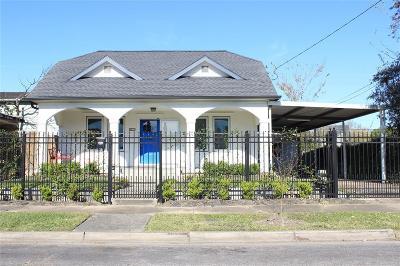 Houston Single Family Home For Sale: 4015 Lamar Street