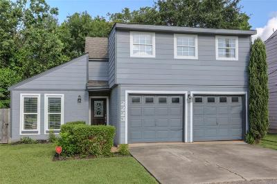 Houston Single Family Home For Sale: 2223 McKean Drive