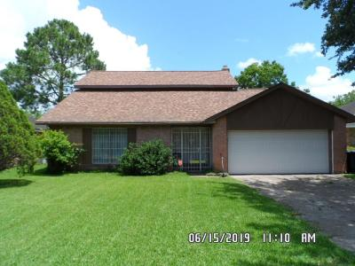 Houston TX Single Family Home For Sale: $128,000