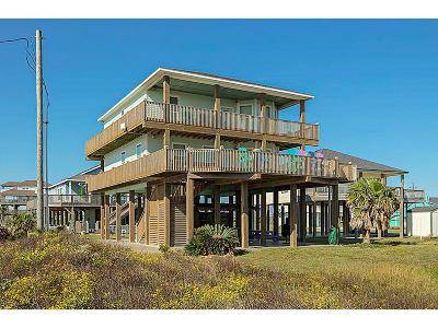 Crystal Beach Single Family Home For Sale: 848 Gulf Shores Drive