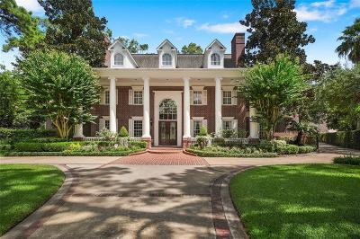 Bunker Hill Village Single Family Home For Sale: 11922 Musket Lane