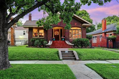 Houston Single Family Home For Sale: 821 Teetshorn Street