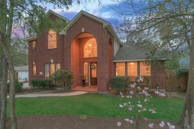 Spring Single Family Home For Sale: 39 S Old Cedar Circle