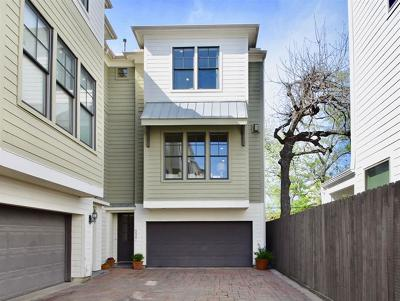 Houston Condo/Townhouse For Sale: 539 W 25th Street #A