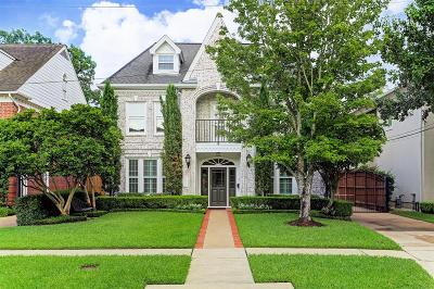 West University Place Single Family Home For Sale: 6623 Brompton Road