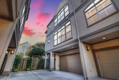 Houston Condo/Townhouse For Sale: 4410 Blossom Street