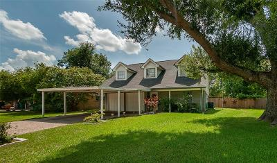 Alvin Single Family Home For Sale: 1504 Bellaire Boulevard