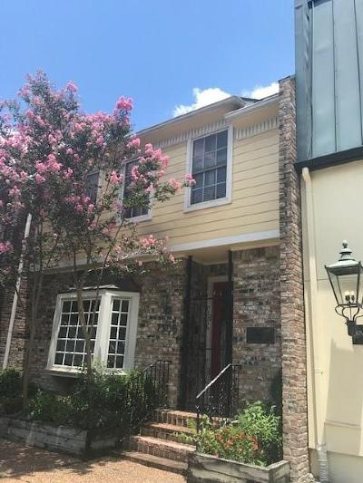 Houston Condo/Townhouse For Sale: 7506 Chevy Chase Drive