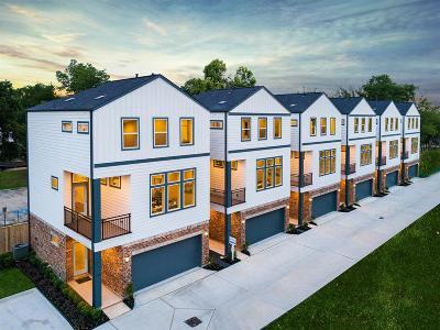 Houston Condo/Townhouse For Sale: 746 W Donovan Street