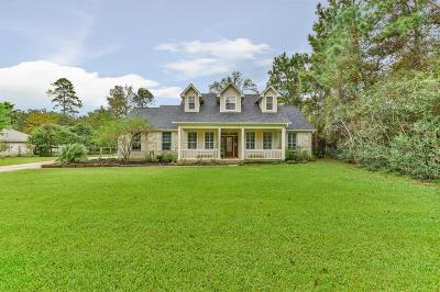 Magnolia Single Family Home For Sale: 25306 Pipestem Drive