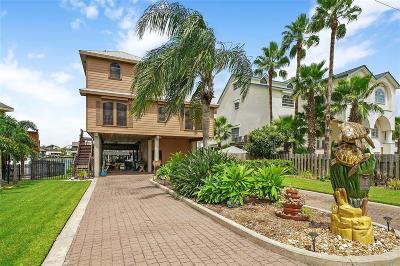 Tiki Island Single Family Home For Sale: 1618 Castaway Street