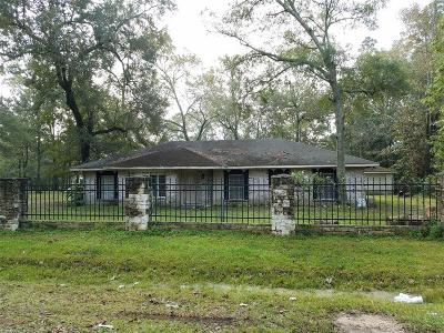 New Caney Single Family Home For Sale: 26778 Burning Tree