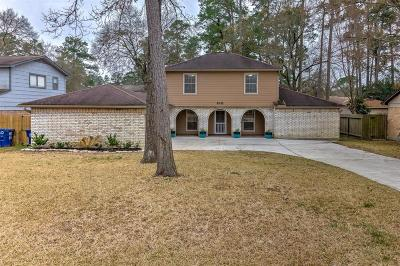 Conroe TX Single Family Home For Sale: $189,900