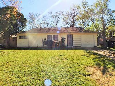 Houston Single Family Home For Sale: 5854 Beldart Street