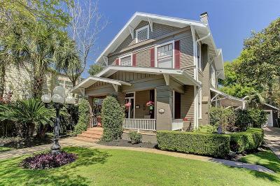 Harris County Single Family Home For Sale: 1108 Hyde Park Boulevard