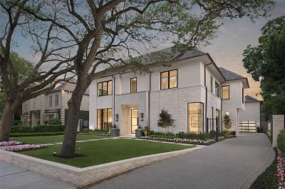 Houston Single Family Home For Sale: 3233 Avalon Place