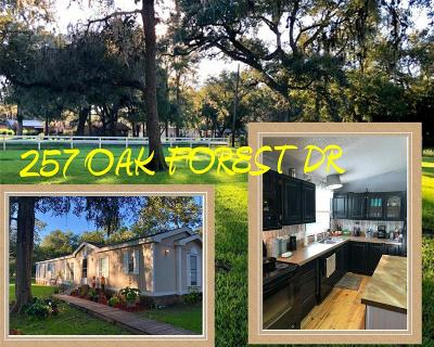 Van Vleck Single Family Home For Sale: 257 Oak Forest Drive