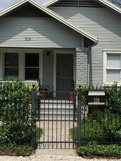 Houston Single Family Home For Sale: 319 Caplin Street