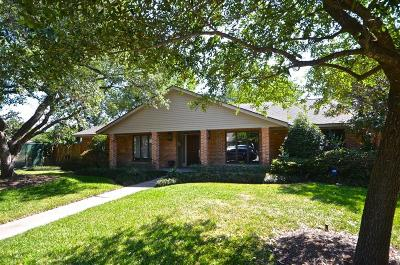 Houston Single Family Home For Sale: 5231 Contour Place