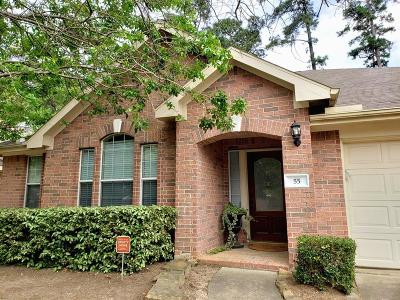 The Woodlands Single Family Home For Sale: 55 N Abram Circle N