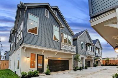 Houston Single Family Home For Sale: 2115 Naomi Avenue #B